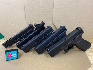 Marui Glock 34 /17 and Umarex Glock 17